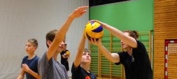 Neuer Volleyballkurs für Burschen unter 16